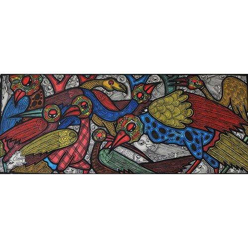 Cuadro  -Bird conference-