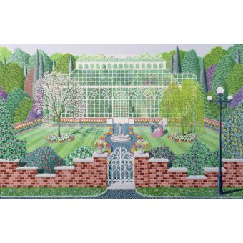 Hall - Cuadro - The Greenhouse in the Park - - Szumowsky, Peter