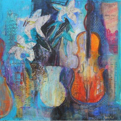 Cuadro - Trio 2014 acrylic.paper collage-