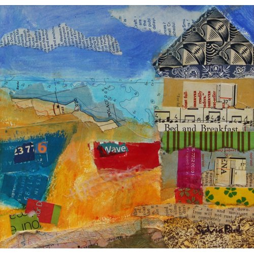 Cuadro - B&B by the Sea 2013, acrylic.paper collage-