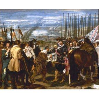 - Cuadro -Rendición de Breda (Las lanzas)- - Velazquez, Diego de Silva
