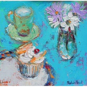 - Cuadro - Butterfly Cake- - Paul, Sylvia