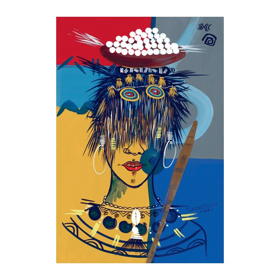 Cuadro -African Beauty 3, 2005-