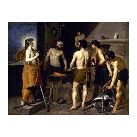 cuadros de retrato - Cuadro -La fragua de Vulcano-