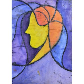 cuadros abstractos - Cuadro  -Camille- - Pontes, Guilherme