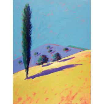 - Cuadro - Golden Valley (acrylic on card)- - Powis, Paul