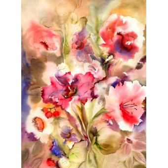 - Cuadro - just lily- - Pushparaj, Neela