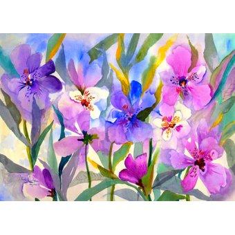 - Cuadro - Iris Fields- - Pushparaj, Neela