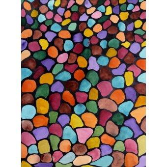 cuadros abstractos - Cuadro - Kwanza- - Pushparaj, Neela