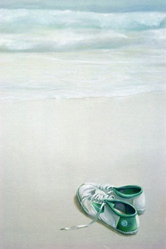 cuadros-modernos - Cuadro -Gym Shoes on Beach- - Seligman, Lincoln