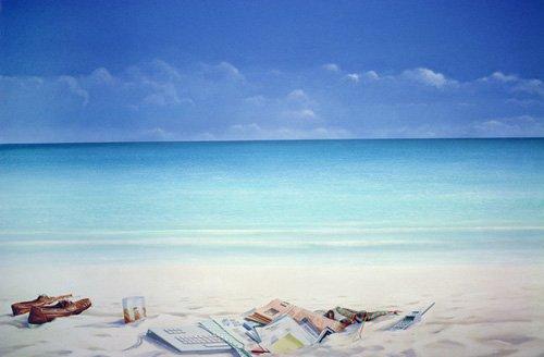 cuadros-modernos - Cuadro -Beach Broker- - Seligman, Lincoln
