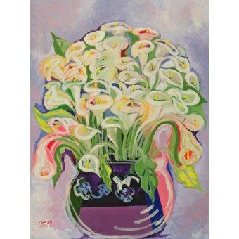 - Cuadro -Lilies, 1989- - Shawa, Laila