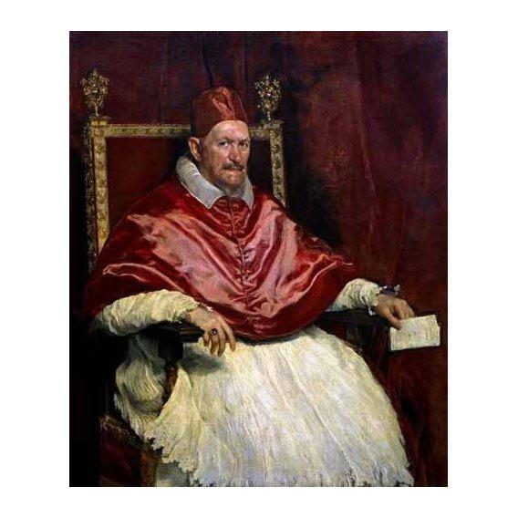 cuadros de retrato - Cuadro -Retrato del Papa Inocencio-