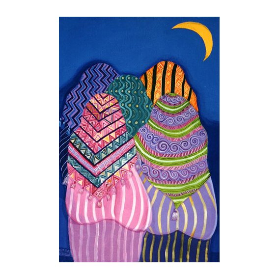 Cuadro -Bottoms in the Moonlight, 1990 -