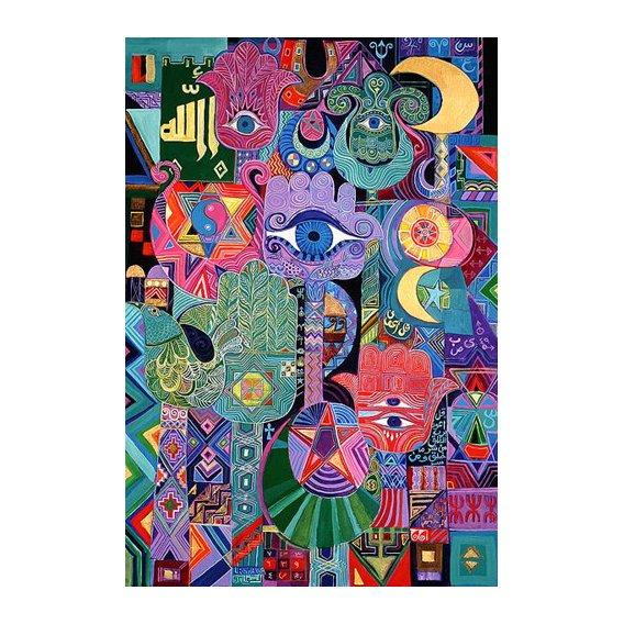 Cuadro -Magical Symbols, 1992-