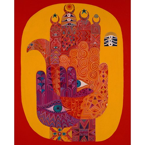 Cuadro -Amulets, 1992-