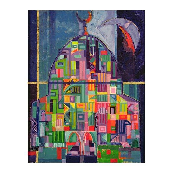 Cuadro -The House of God, 1993-94-