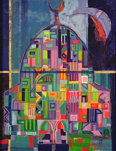 cuadros-etnicos-y-oriente - Cuadro -The House of God, 1993-94- - Shawa, Laila