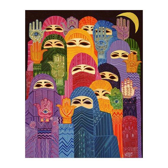 Cuadro -The Hands of Fatima, 1989-