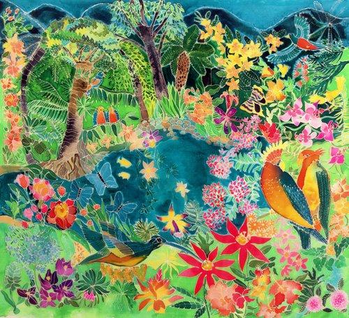 cuadros-para-salon - Cuadro - Caribbean Jungle, 1993- - Simon, Hilary