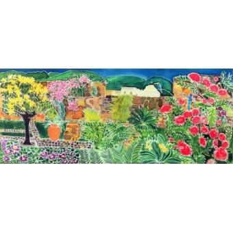 - Cuadro - Convent Gardens, Antigua, 1993- - Simon, Hilary
