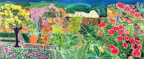 cuadros-para-salon - Cuadro - Convent Gardens, Antigua, 1993- - Simon, Hilary