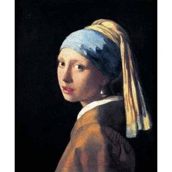 - Cuadro -La joven de la perla- - Vermeer, Johannes
