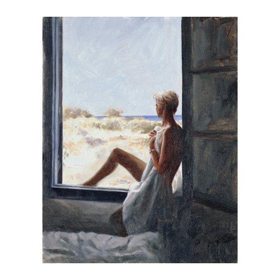 Cuadro - Blue Sea Dream (oil on canvas board) -