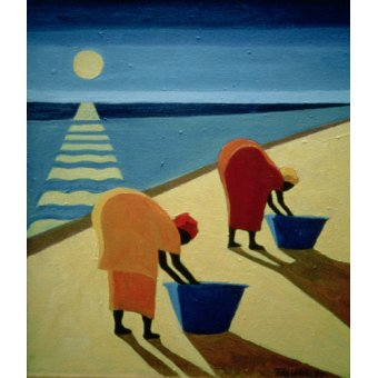 - Cuadro - Beach Bums, 1997 (oil on canvas) - - Willis, Tilly