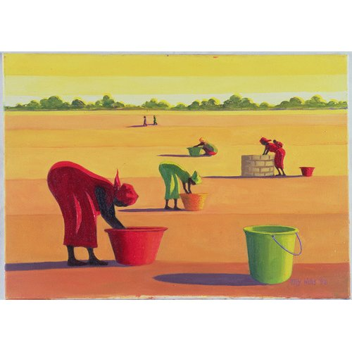 Cuadro - Beyond the Pale, 1998 (oil on canvas) -