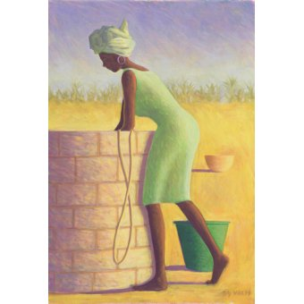 - Cuadro - Water from the Well, 1999 (oil on canvas)- - Willis, Tilly