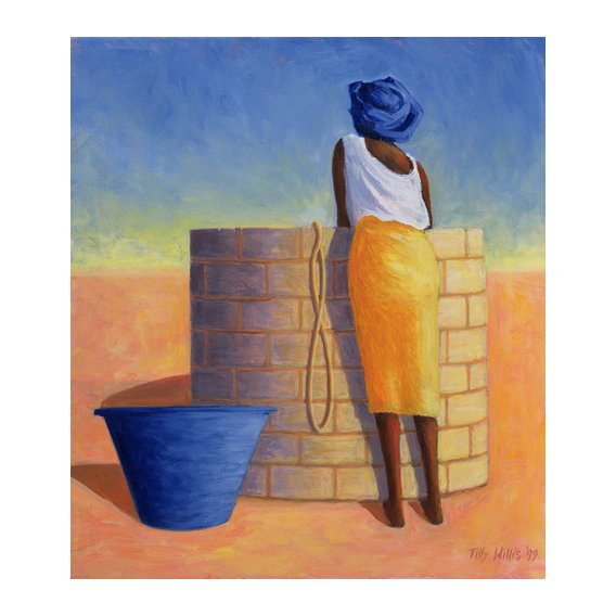 Cuadro - Well Woman, 1999 (oil on canvas)-