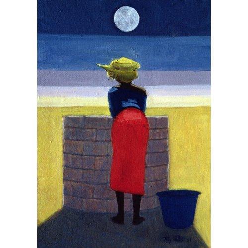 Cuadro - Moonlit Evening, 2001 (oil on canvas)-