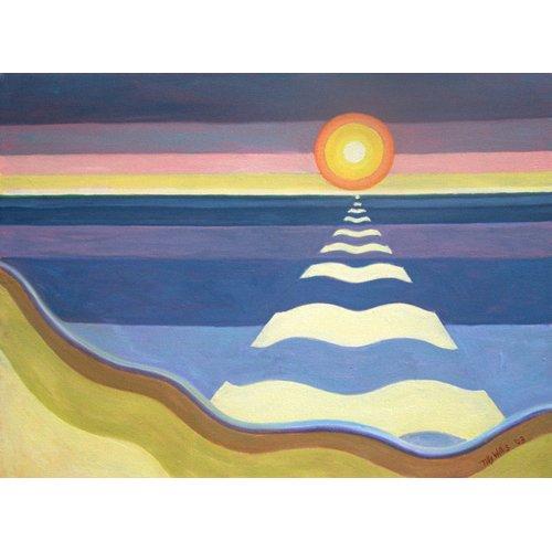 Cuadro - Evening Sun, 2003 (oil on canvas) -