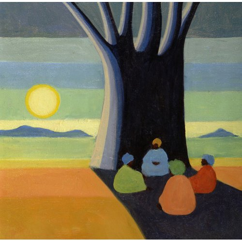 Cuadro - The Meeting, 2005 (oil on canvas) -