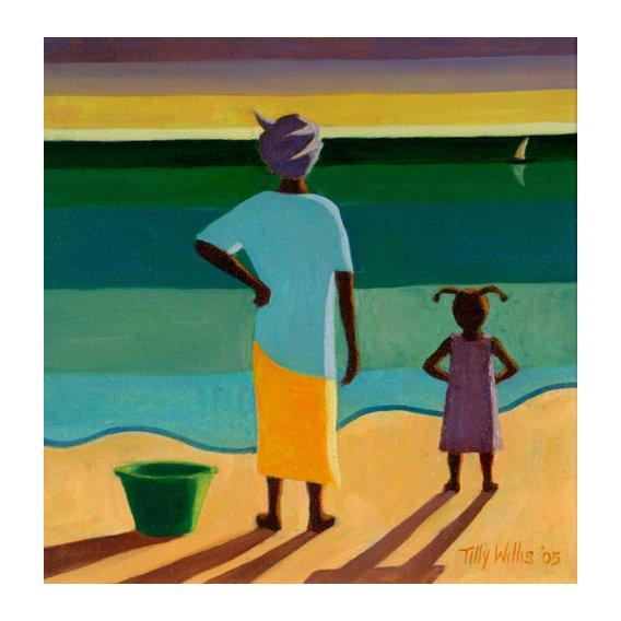 Cuadro - Waiting, 2005 (oil on canvas) -