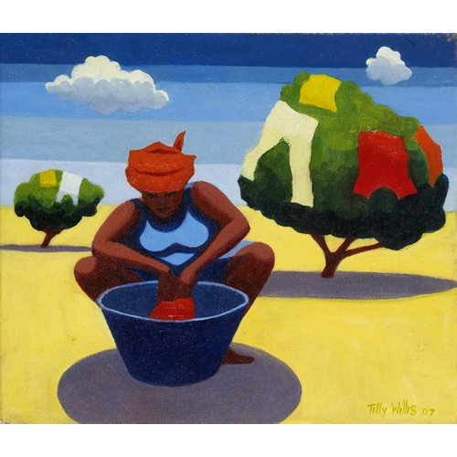 Cuadro - A Drying Day, 2007 (oil on canvas) -