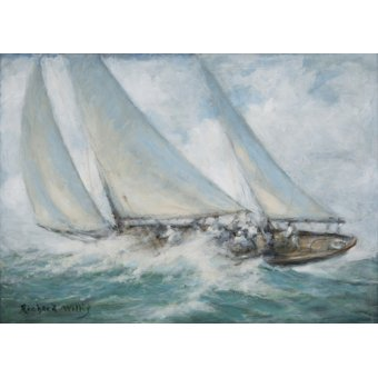 Hall - Cuadro - Classic Yacht - Twixt Wind and Water - - Willis, RIchard