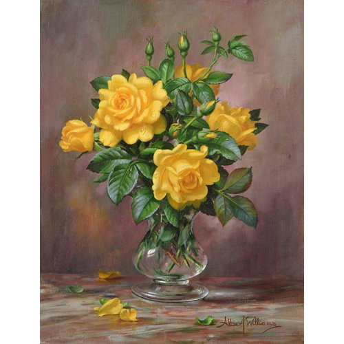 Cuadro - AB.303 Radiant Yellow Roses -