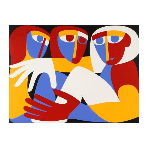 Cuadro - Till Light Arise, 1988 (acrylic on board)  -