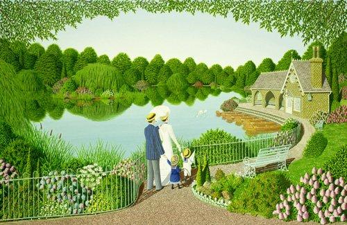 cuadros-de-paisajes - Cuadro - Togetherness - - Szumowsky, Peter