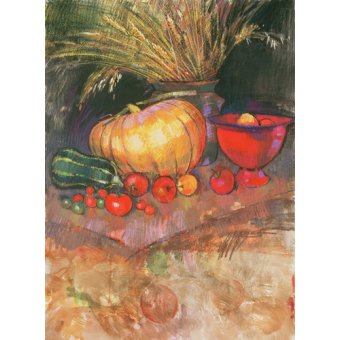 CUADROS PARA COMEDOR - Cuadro - Harvest (pastel on paper) - - Spencer, Claire