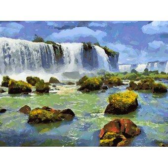cuadros de paisajes - Cuadro -Moderno CFM13889- - Medeiros, Celito