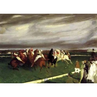 - Cuadro -Polo at Lakewood- - Bellows, George