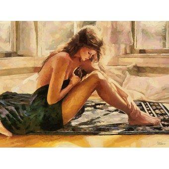 cuadros de desnudos - Cuadro -Moderno CFM13535- - Medeiros, Celito