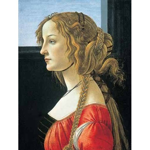 Cuadro -Joven mujer-