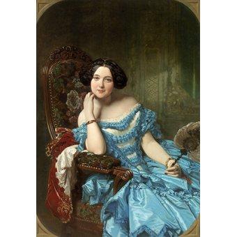 Cuadro -Amalia de Llano y Dotres, condesa de Vilches-