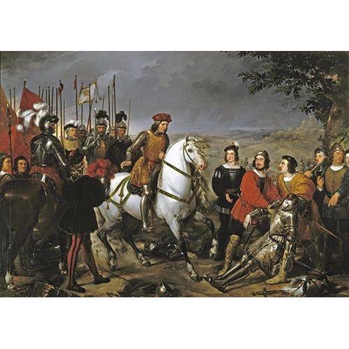 Cuadro -El Gran Capitan tras batalla de Ceriñola-