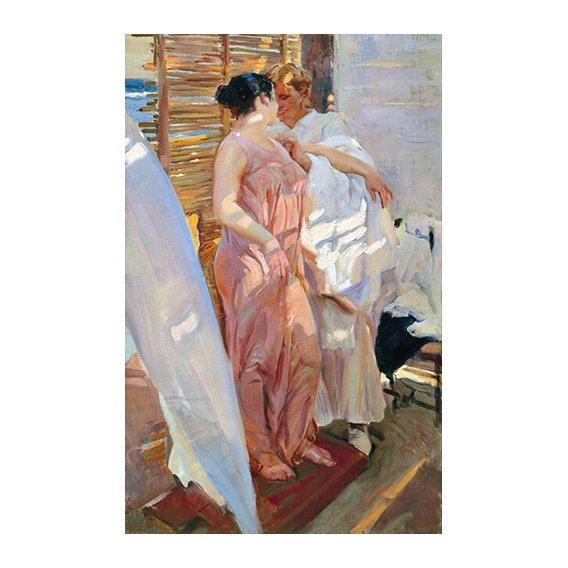 Cuadro -Despues del baño, 1916 -