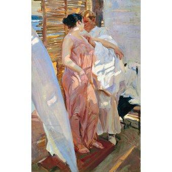 - Cuadro -Despues del baño, 1916 - - Sorolla, Joaquin